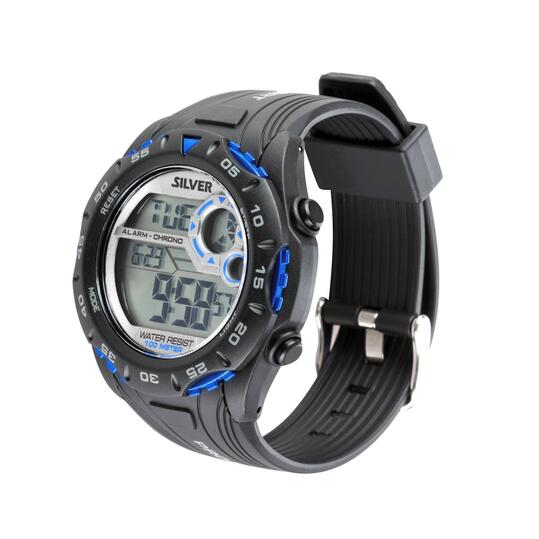 Reloj deportivo SILVER SPoRT-4 Negro Azul