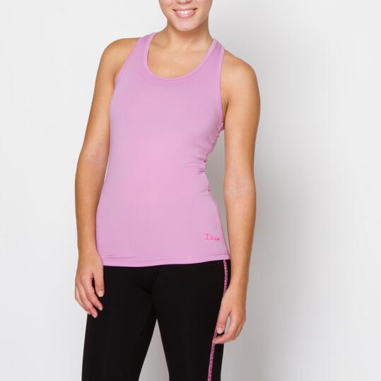 ILICO Camiseta Fitness Malva Mujer