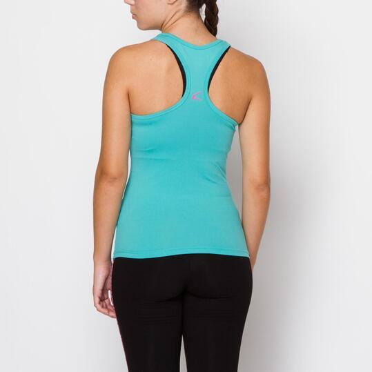 ILICO Camiseta Fitness Verde Mujer