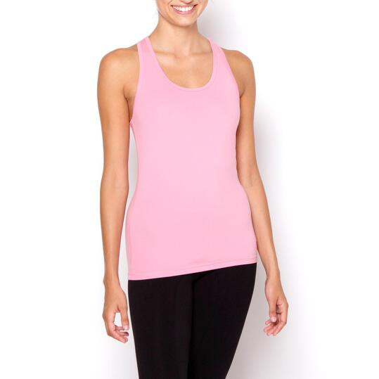 ILICO Camiseta Fitness Rosa Mujer