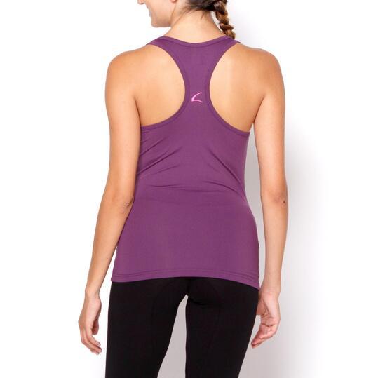 ILICO Camiseta Fitness Morado Mujer