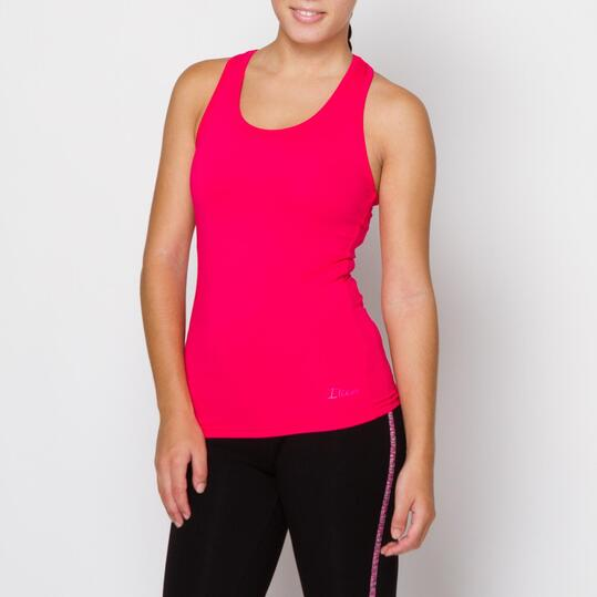 ILICO Camiseta Fitness Fucsia Mujer