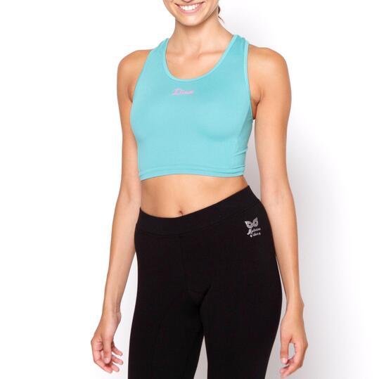 ILICO Sujetador Deportivo Fitness Verde Mujer