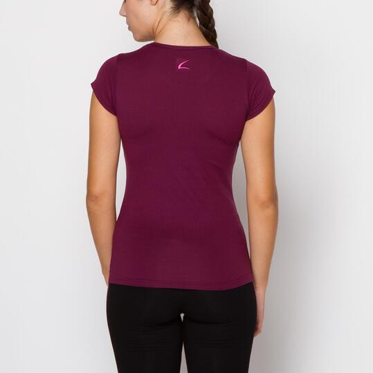 Camiseta ILICO Fitness Morado Mujer