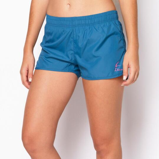 Short ILICO Fitness Azul Mujer