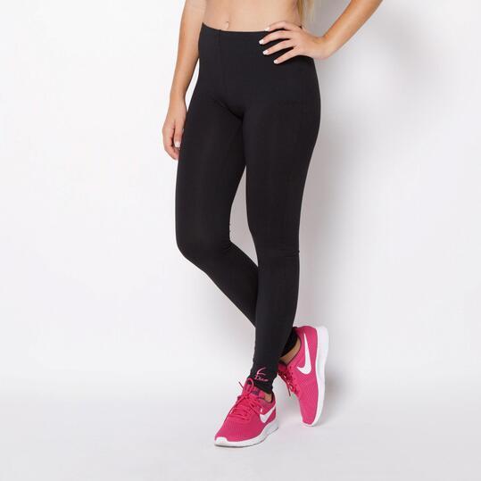 Mallas Largas ILICO Fitness Negro Mujer