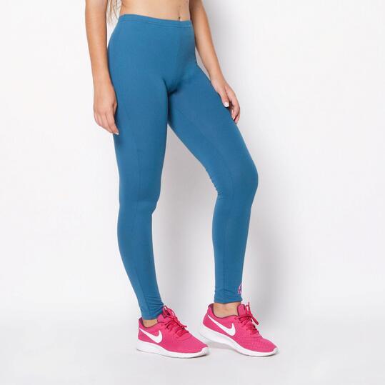 Mallas Largas ILICO Fitness Azul Mujer