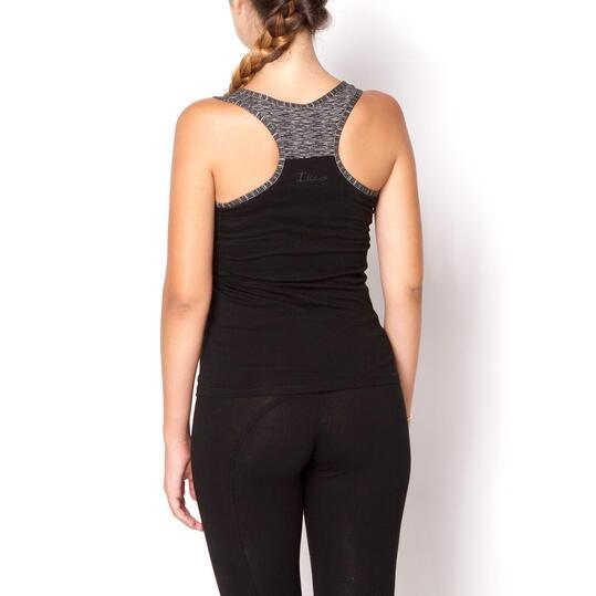 Camiseta ILICO Fitness Negro Mujer