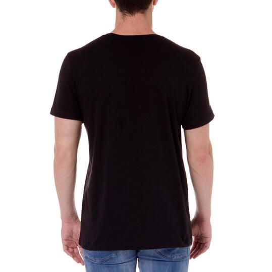 Camiseta manga corta hombre ADIDAS CASCo Negro