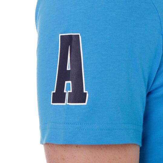 Camiseta manga corta hombre ADIDAS CASCo Azul