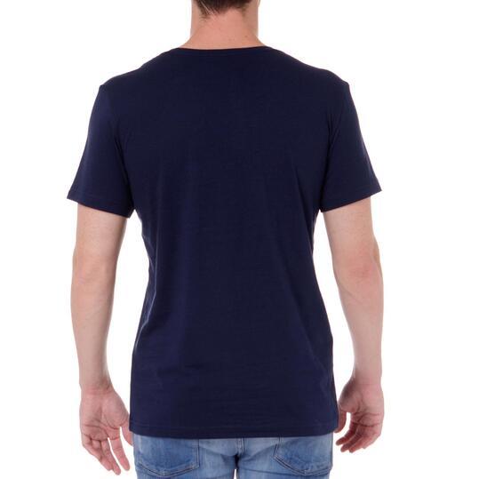 Camiseta Manga Corta Hombre ADIDAS Marino