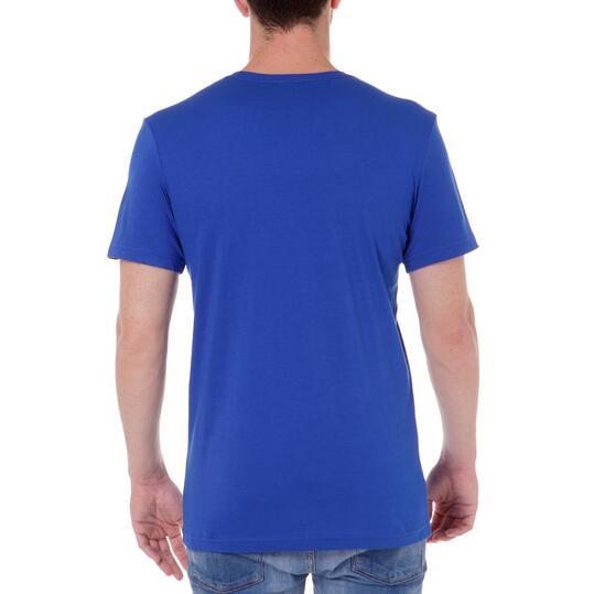 Camiseta Manga Corta Hombre ADIDAS Azul