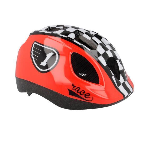 Casco Bicicleta MÍTICAL Race Rojo Negro Niño