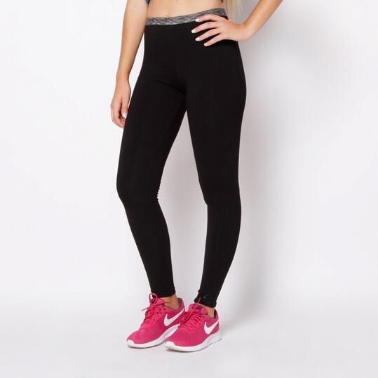 Mallas ILICO Fitness Negro Mujer