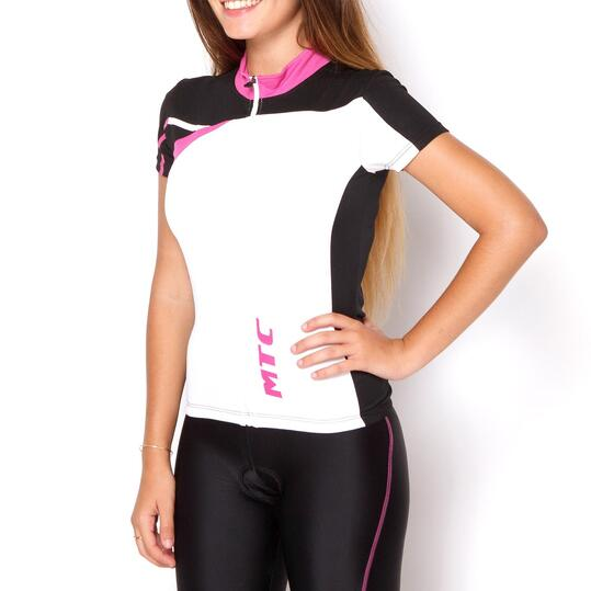 Maillot Ciclismo Plata MÍTICAL Negro Mujer