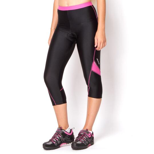 Culotte Ciclismo Plata MÍTICAL Negro Mujer
