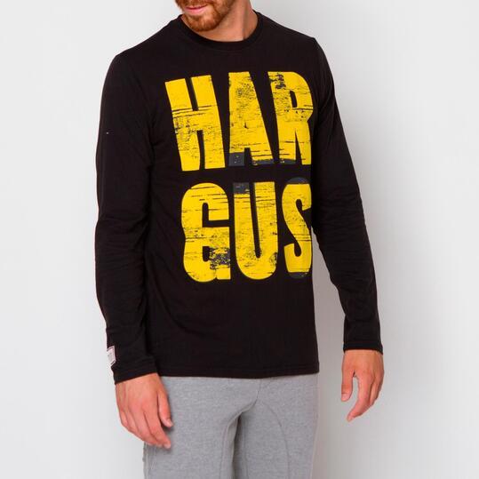 Camiseta HARGUS Negro Hombre