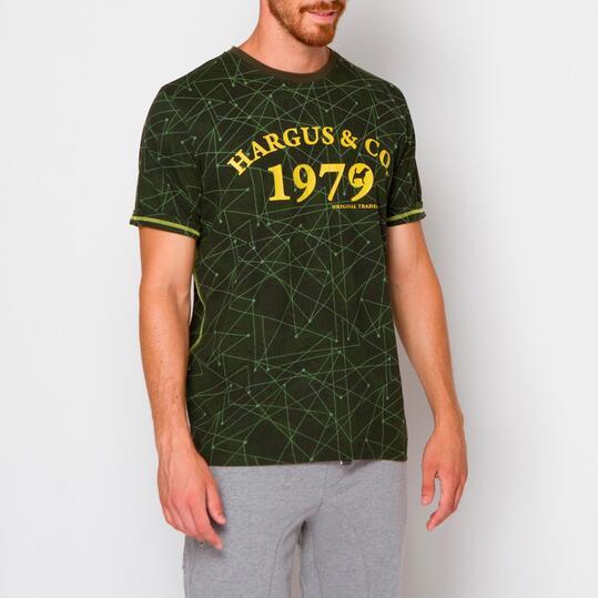 Camiseta HARGUS Verde Hombre