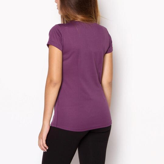 Camiseta IPSO Morado Mujer