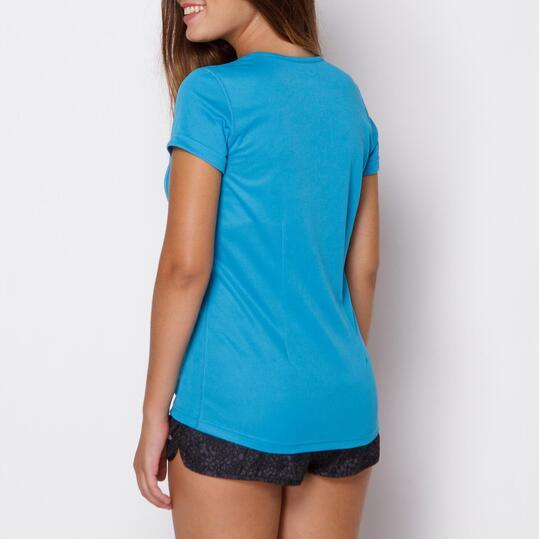 Camiseta IPSO Azul Mujer