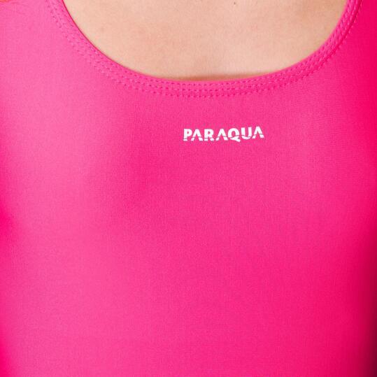 PARAQUA Bañador Natación Rosa Mujer