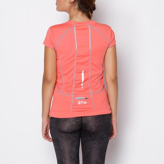 Camiseta IPSO Rosa Mujer