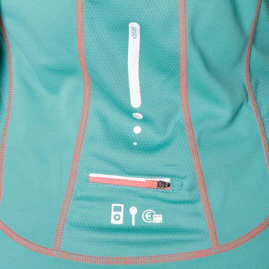 Camiseta IPSO Verde Mujer