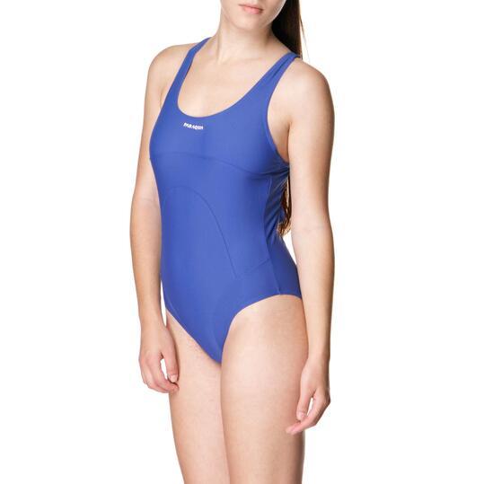 PARAQUA Bañador Azul Mujer