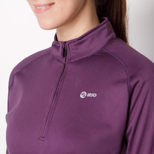 Camiseta Térmica IPSO Morado Mujer
