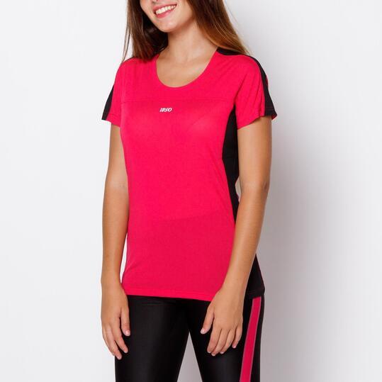 IPSO Camiseta Running Fucsia Mujer