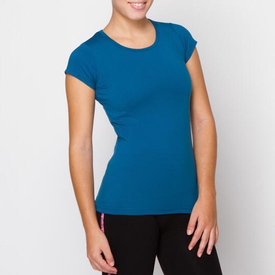 Camiseta ILICO Fitness Azul Mujer