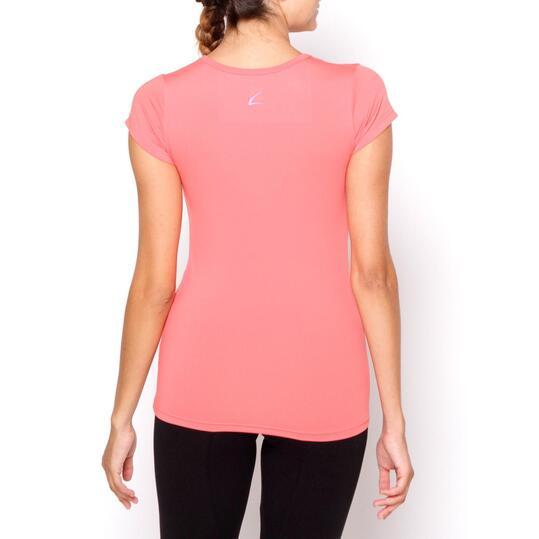 Camiseta ILICO Fitness Rosa Mujer