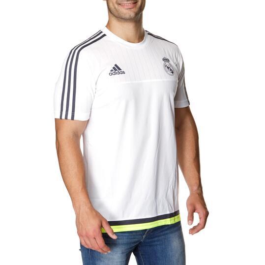 ADIDAS Camiseta Real Madrid Blanco Negro