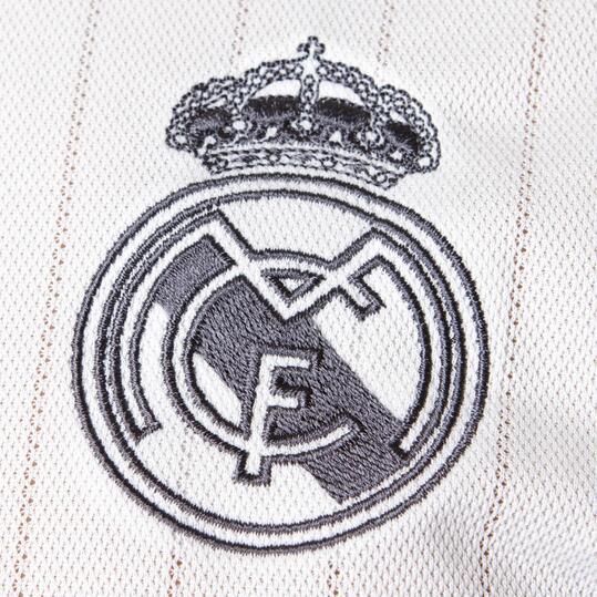 ADIDAS Polo Manga Corta Real Madrid Blanco Negro Hombre