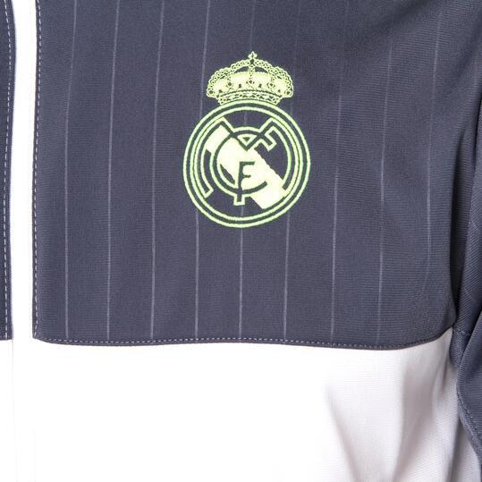 ADIDAS Chándal Real Madrid Marino Blanco Hombre