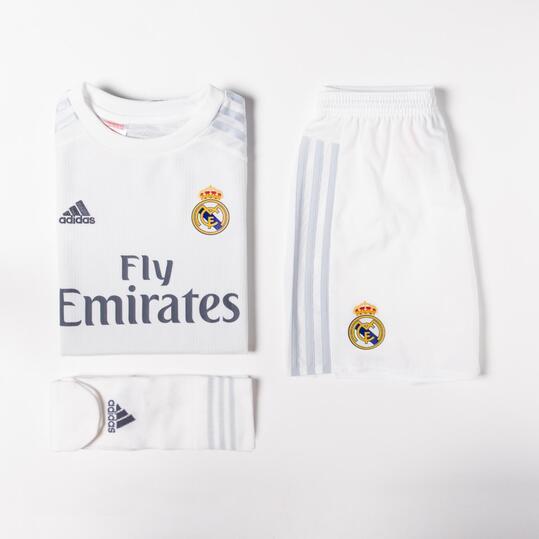 ADIDAS Equipación Oficial Real Madrid Niño (6-14)