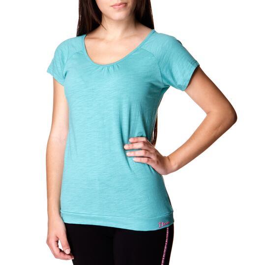 ILICO Camiseta Manga Corta Verde Mujer