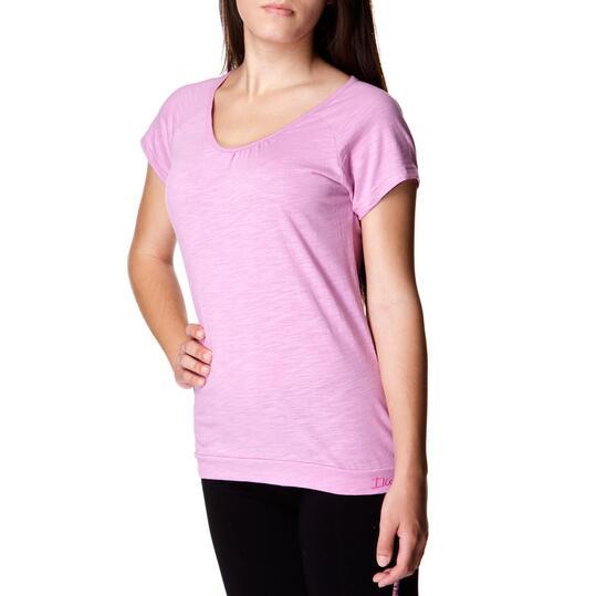 ILICO Camiseta Manga Corta Malva Mujer