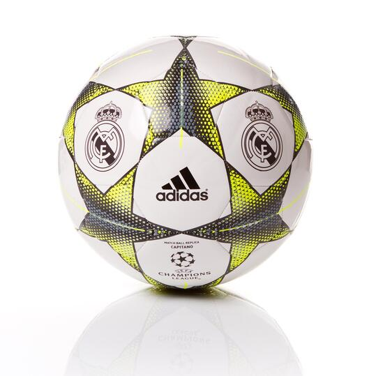 ADIDAS Balón Real Madrid Blanco Verde