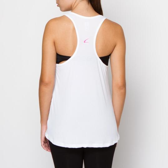 Camiseta ILICO Fitness Blaco Mujer