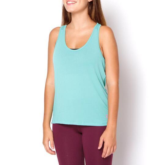 Camiseta ILICO Fitness Verde Mujer