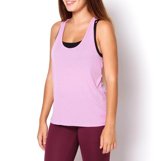 Camiseta ILICO Fitness Malva Mujer