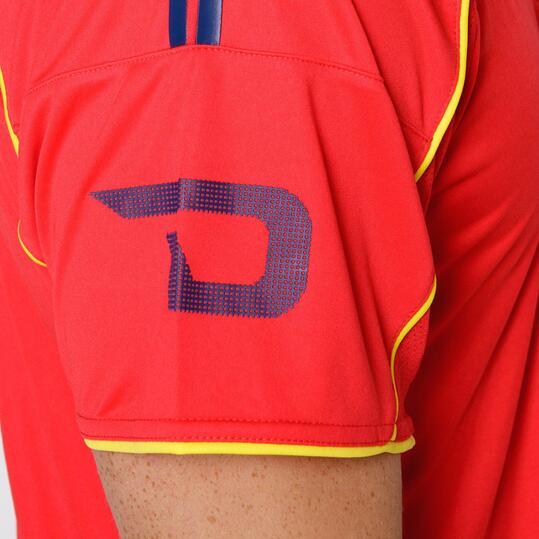 Camiseta Fútbol DAFOR Rojo Hombre