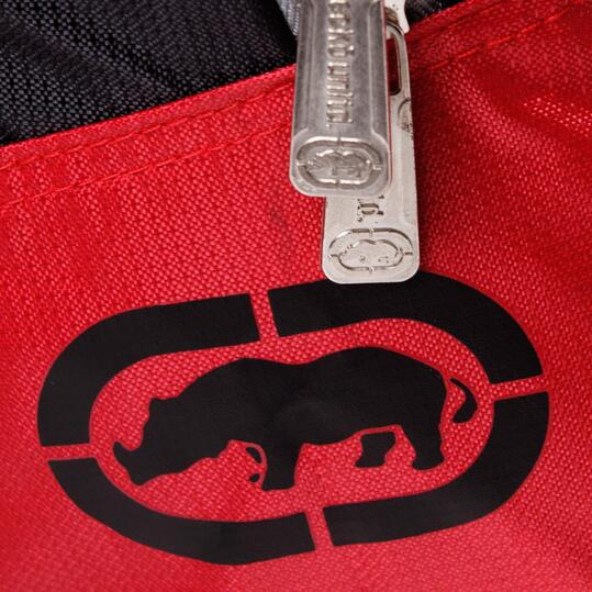ECKO Mochila Negro Rojo