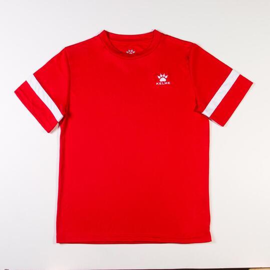 KELME Camiseta Fútbol Rojo Niño (8-16)