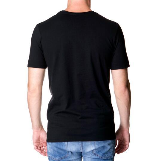 Camiseta Manga Corta Hombre NIKE CAMo Negra