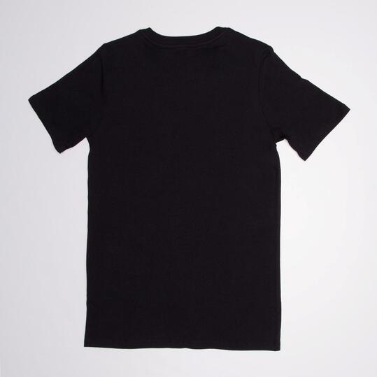 NIKE Camiseta Manga Corta Negro Niño (10-16)