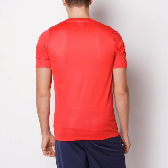 NIKE ACADEMY Camiseta Fútbol Rojo Negro Hombre