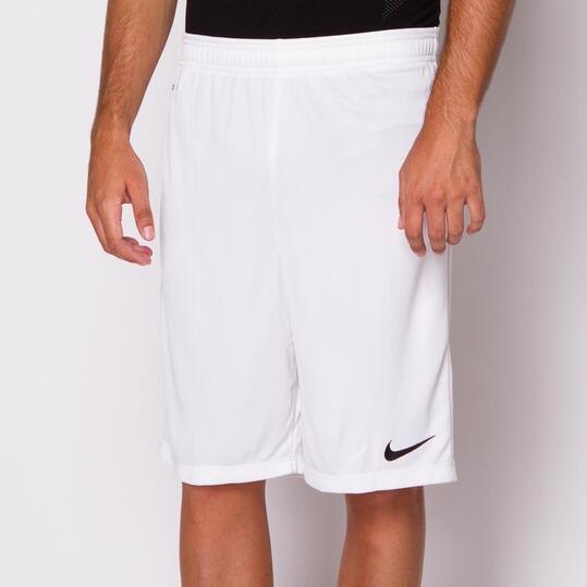 NIKE ACADEMY Pantalón Corto Fútbol Blanco Hombre
