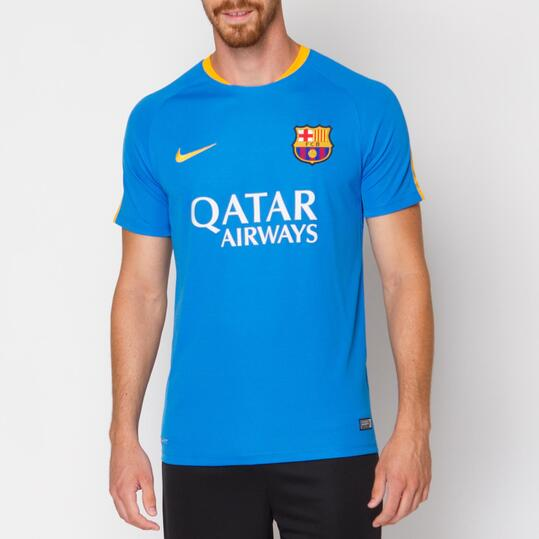 NIKE FLASH Camiseta Barça Azul Hombre